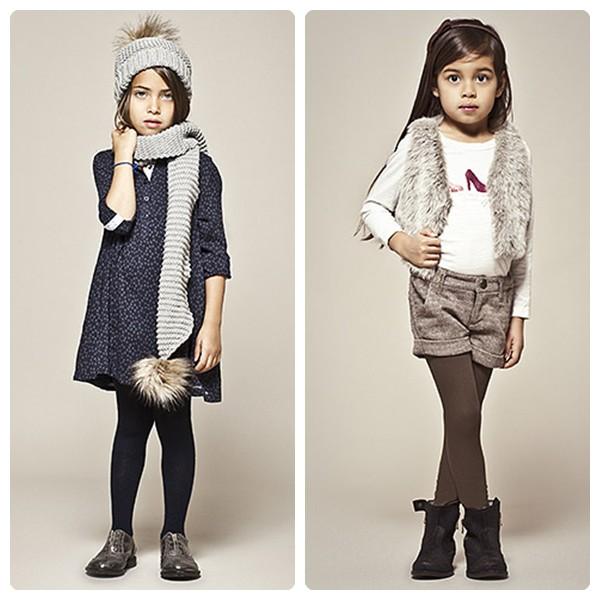 Moda infantil otoño invierno 2012-2013