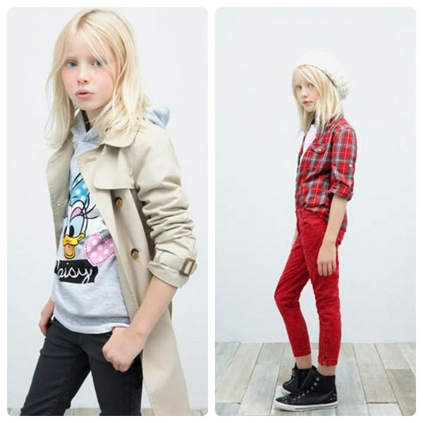 Zara niños otoño invierno 2012-2013