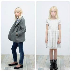 Zara moda infantil otoño invierno 2012-2013