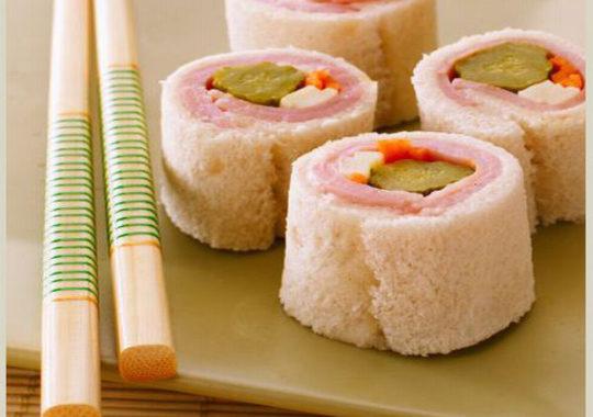 Un sándwich sushi muy divertido para niños 3