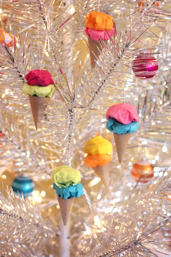 10 adornos caseros para el rbol de navidad pequeocio - Ideas para decorar estrellas de navidad ...