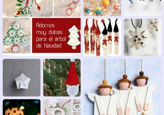 16 ADORNOS NAVIDEÑOS caseros para el árbol de Navidad 3