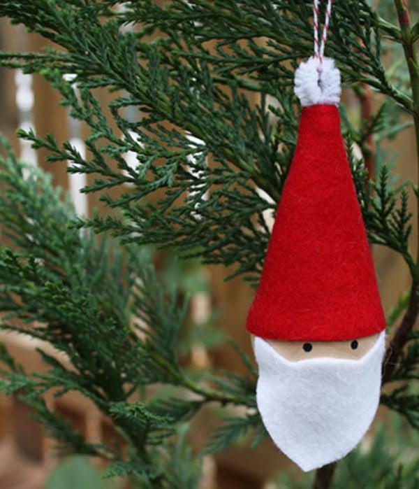 10 ideas de adornos caseros para el rbol de navidad - Como Hacer Adornos De Navidad
