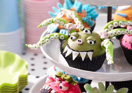 Cómo decorar Cupcakes para Halloween 6