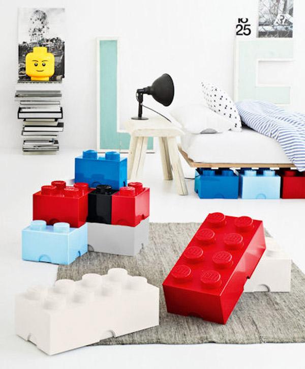 Habitaciones infantiles: decoración con piezas Lego