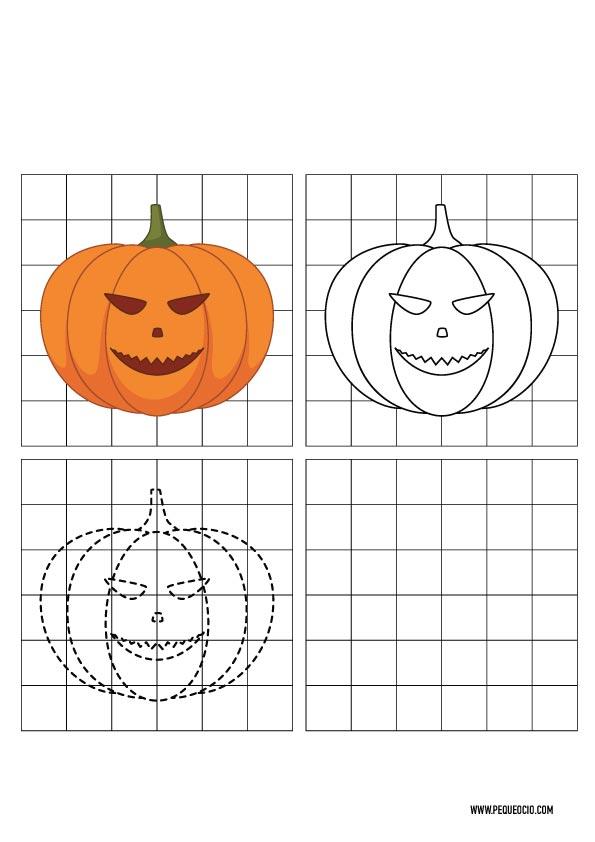 Dibujos de Halloween para dibujar