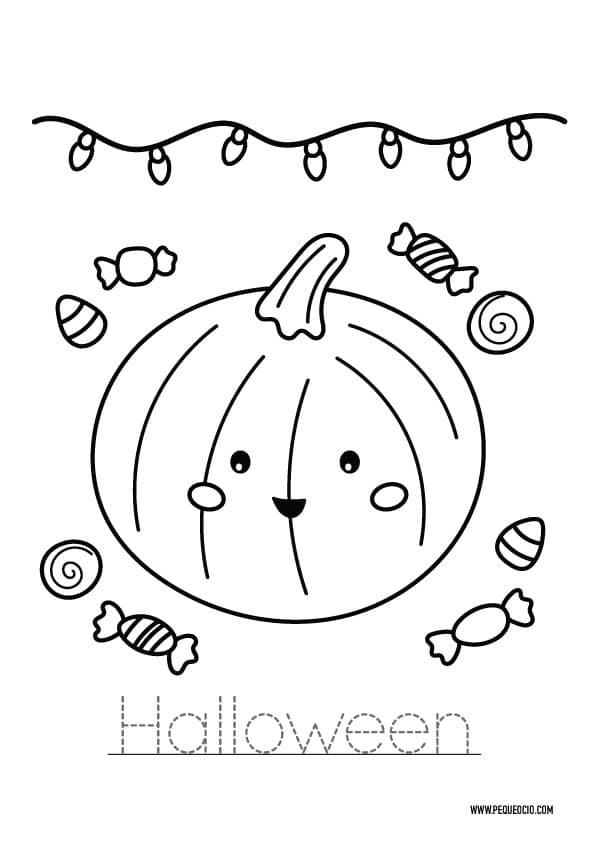 Dibujos fáciles de Halloween