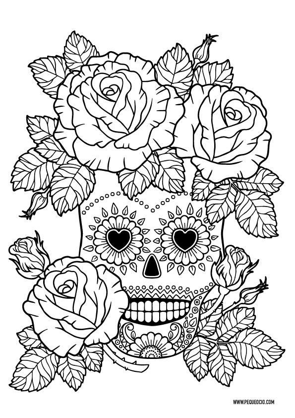 Dibujos de calaveras mexicanas
