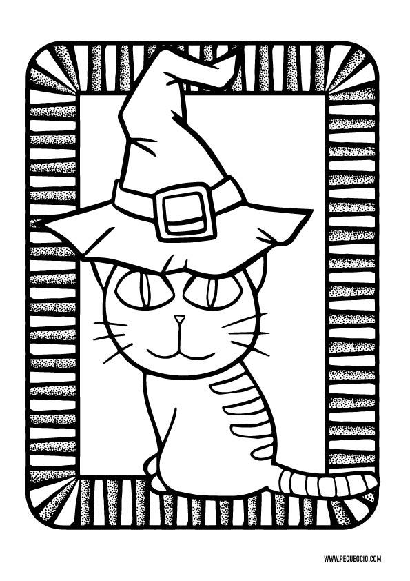 Gato de Halloween