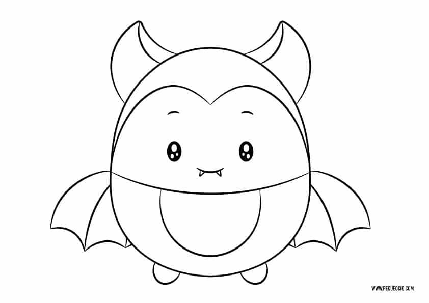 Dibujos de murciélagos de Halloween
