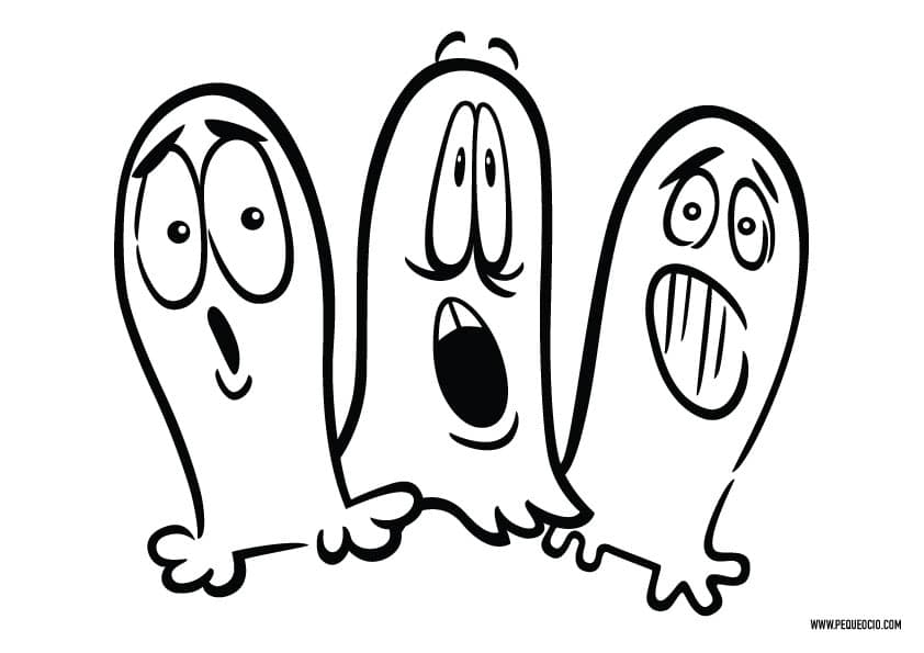 Dibujos de fantasmas