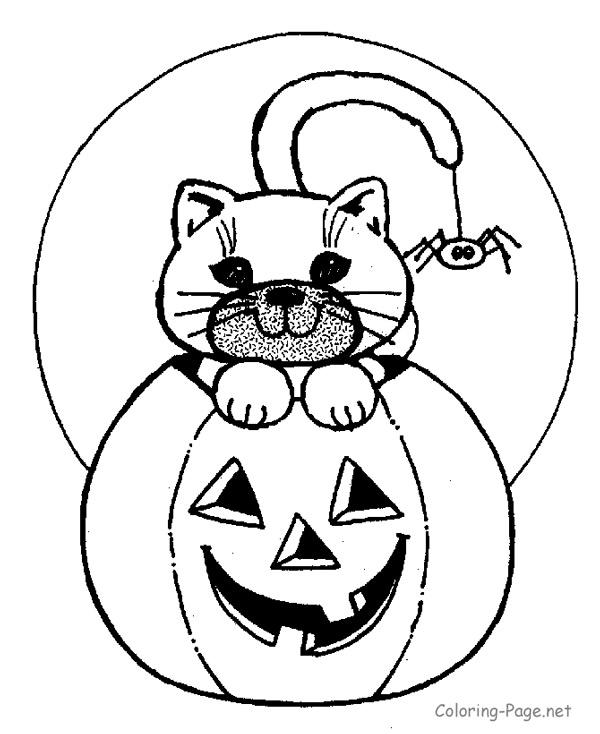 Dibujos de Halloween para colorear e imprimir gratis  Pequeocio