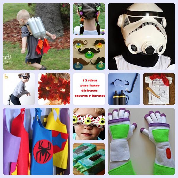 12 ideas para disfraces caseros y baratos espectaculares - Disfraces originales hechos en casa ...