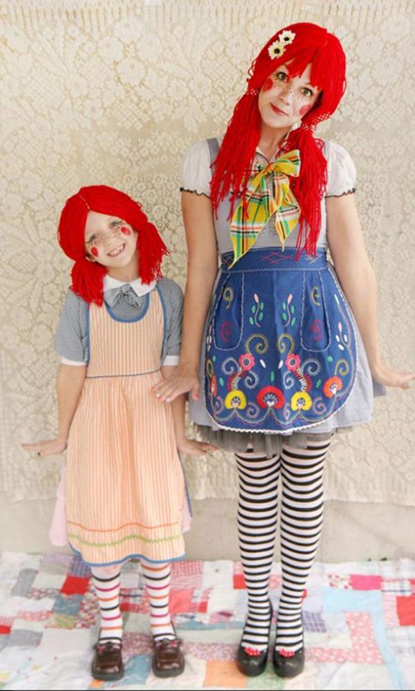 Disfraces fáciles de hacer de muñeca