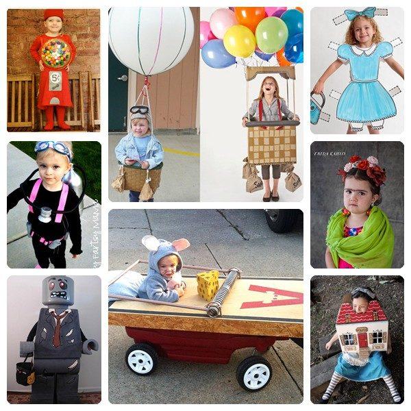 8 disfraces originales y divertidos para niños