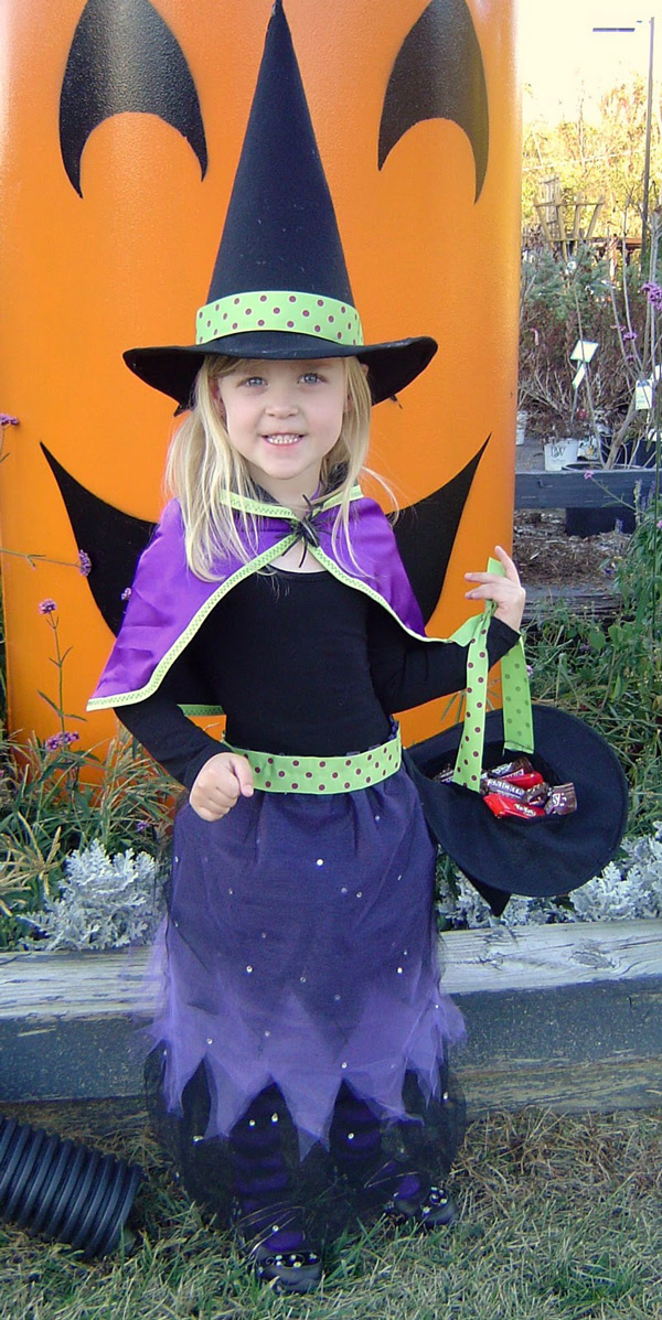 disfraz infantil de bruja disfraces infantiles de halloween