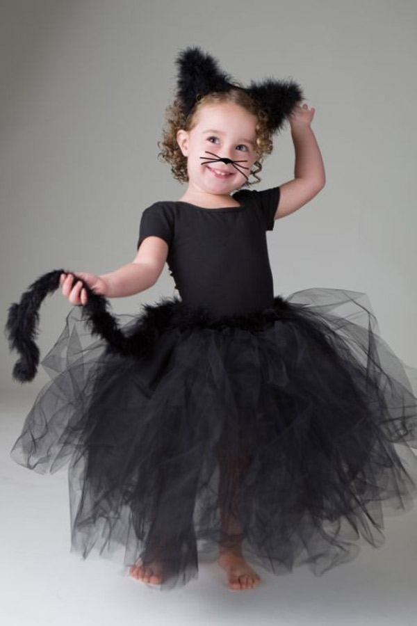 Black Cat Tutu Costume