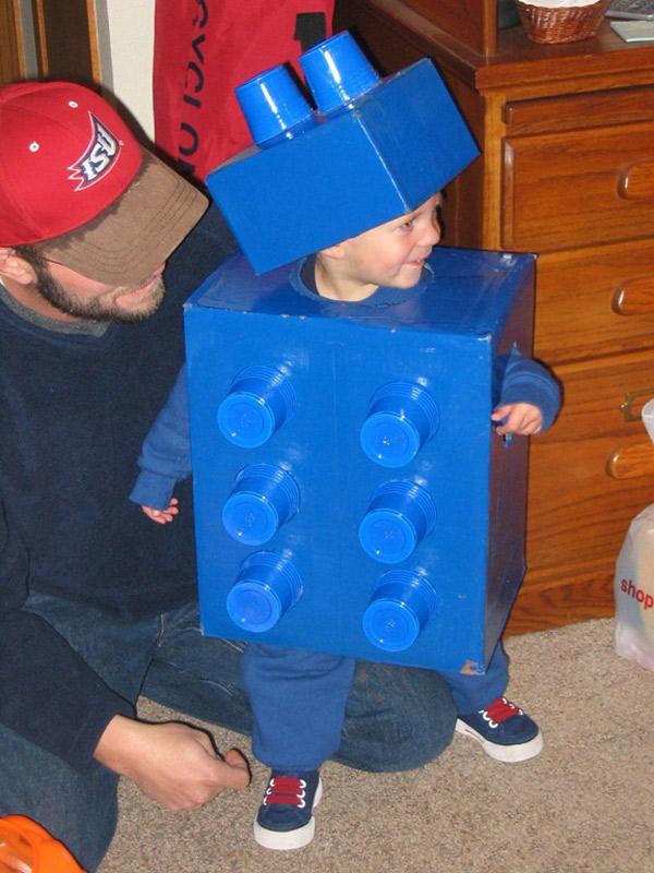disfraces faciles de hacer de lego
