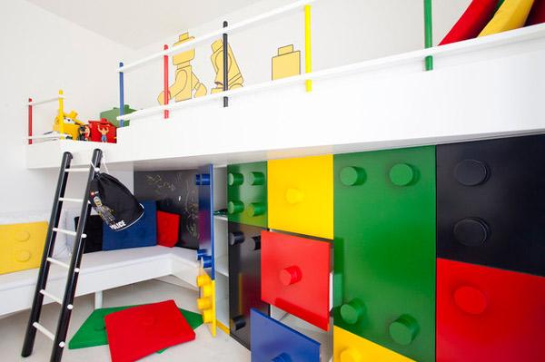 Habitaciones para niños: decoración con Lego