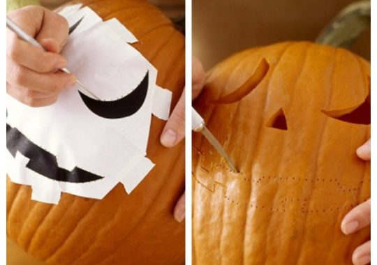hacer calabaza de halloween