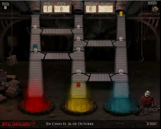 Hotel Transilvania juego online