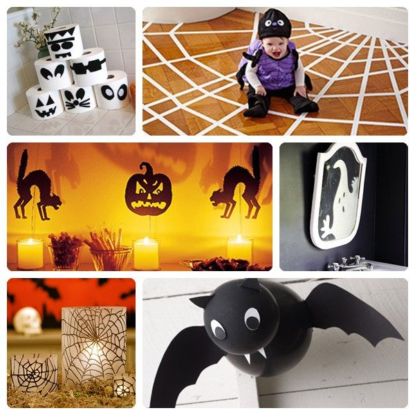6 ideas divertidas para decorar la casa en Halloween Pequeocio