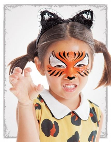 Maquillaje de Halloween para niñas