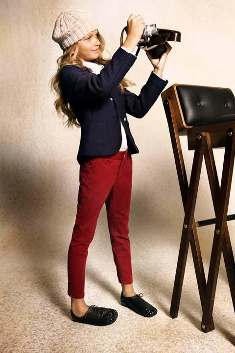 Massimo Dutti moda para niñas