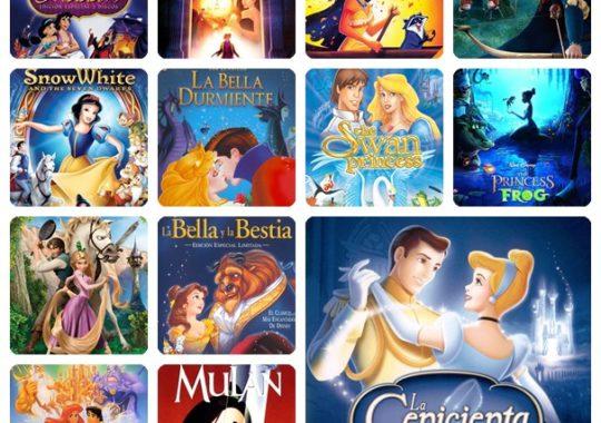 Nuestras películas de princesas favoritas 3