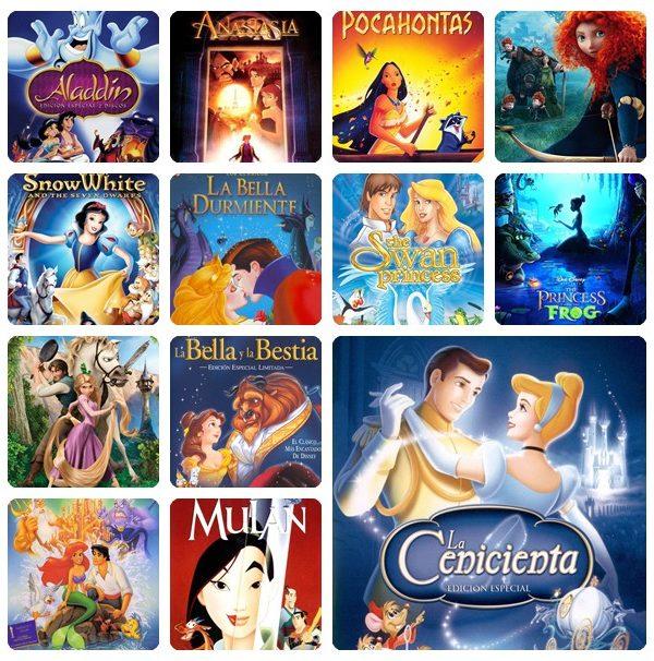 Nuestras películas de princesas favoritas 1
