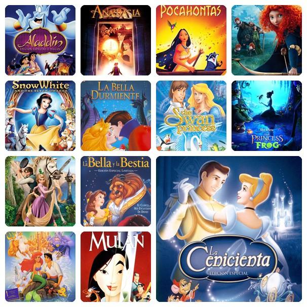 Nuestras Películas De Princesas Favoritas Pequeocio