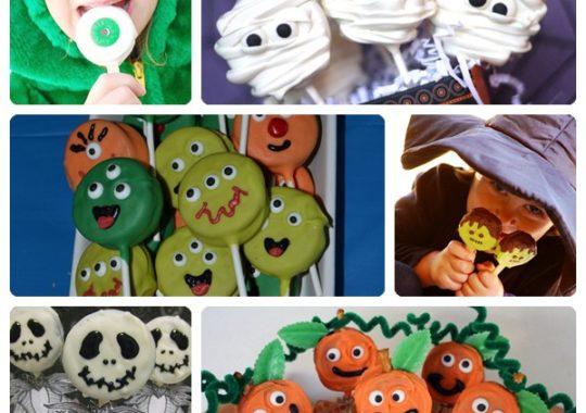 Receta de piruletas monstruosas para Halloween 4