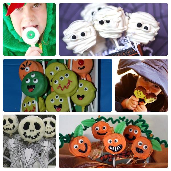 Receta de piruletas monstruosas para Halloween 3