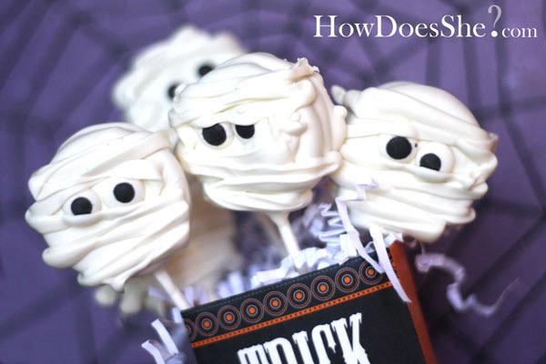 Postres de Halloween para niños