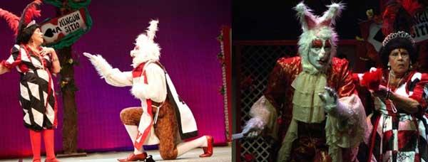 Teatro infantil Alicia en el pais de las maravillas