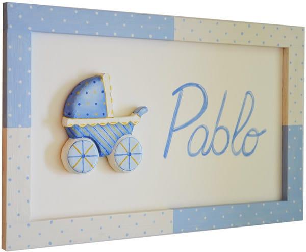 Cuadros infantiles personalizados cositas con encanto - Cuadros artesanales infantiles ...