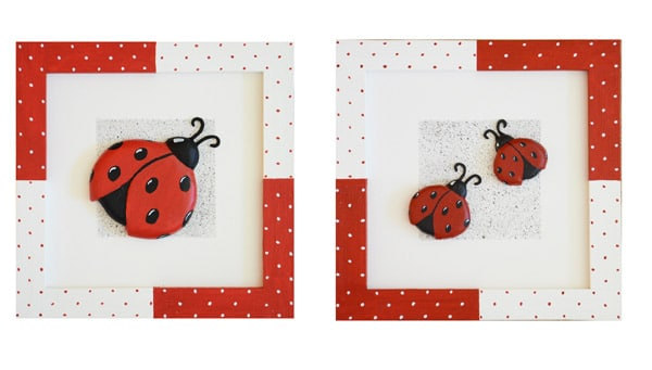 Cuadros artesanales y personalizables para decorar la habitación de los niños