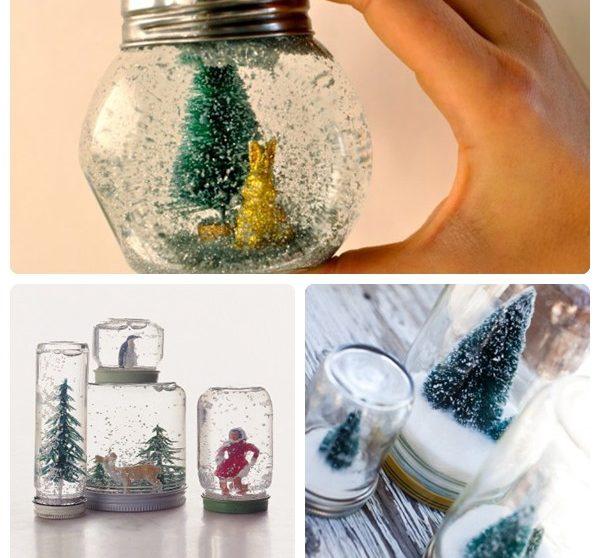C mo hacer bolas de nieve para navidad - Bolas de navidad para ninos ...