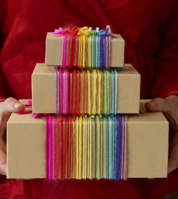 10 ideas creativas para envolver regalos for Como envolver un regalo original