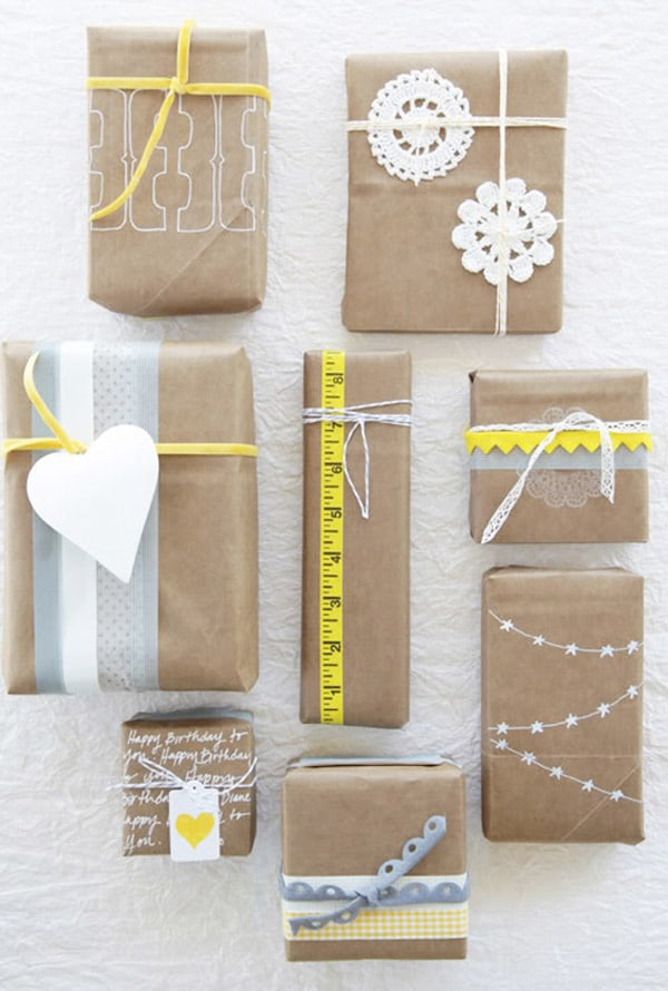 10 ideas creativas para envolver regalos for Ideas originales para casa