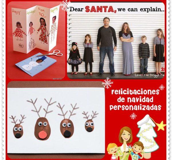 Felicitacion Navidad Personalizada Fotos.Felicitaciones De Navidad Personalizadas Pequeocio Com