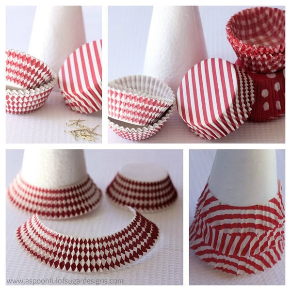 5 rboles de navidad de papel f ciles de hacer pequeocio - Decoracion facil y barata ...