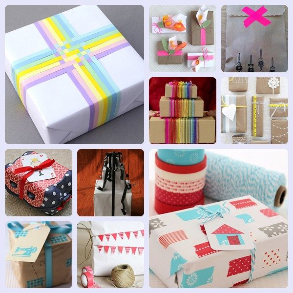 10 ideas originales para envolver regalos 1