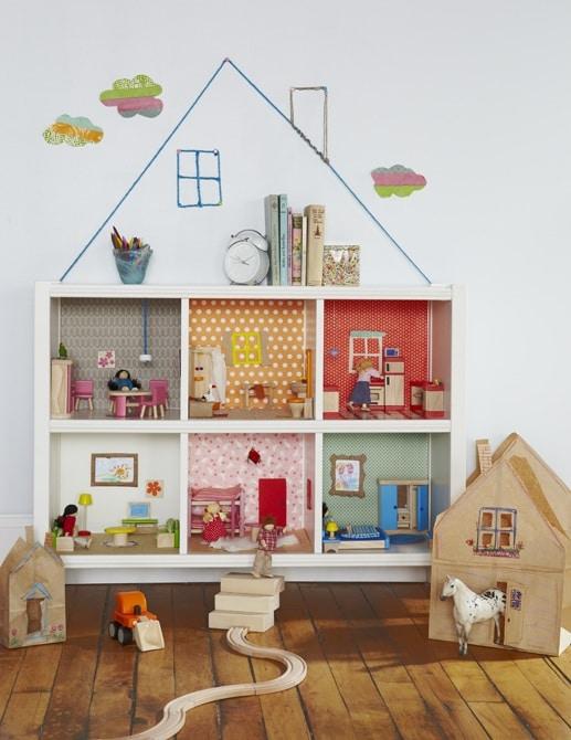 Casas de muñecas hay muchas, pero esta casita nos ha gustado ...