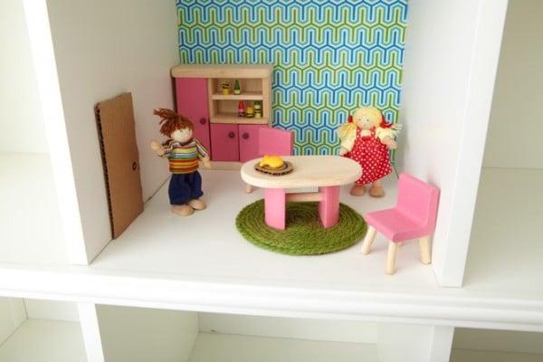 Casa muñecas mobiliario