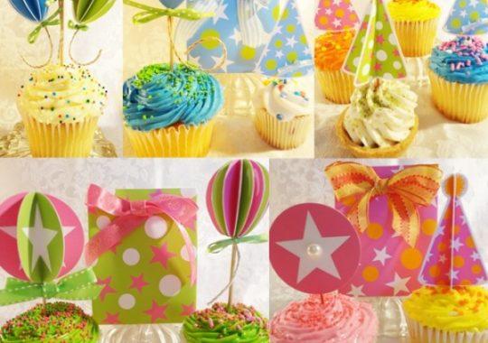 Decorar cupcakes navidad