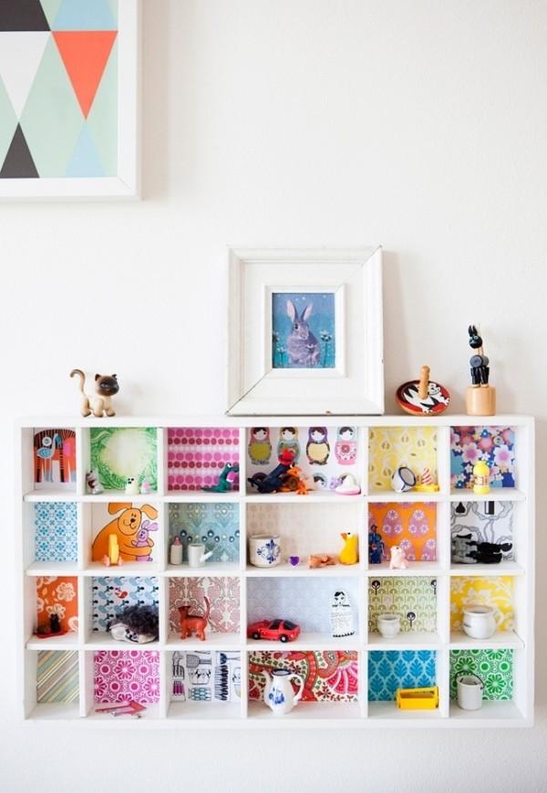 Personaliza la estanter a infantil pequeocio - Estanteria pared infantil ...