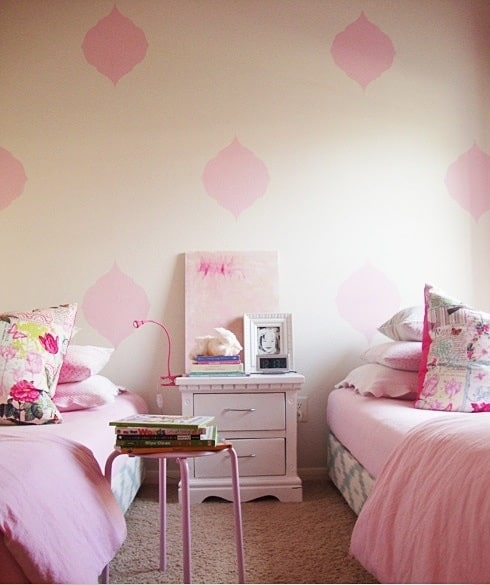 Habitaciones rosa para ni as pequeocio - Lamparas para habitaciones infantiles ...