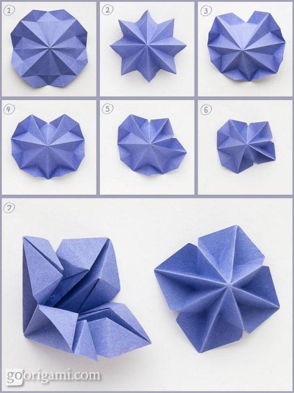 5 rboles de navidad de papel f ciles de hacer for Adornos navidenos origami paso a paso