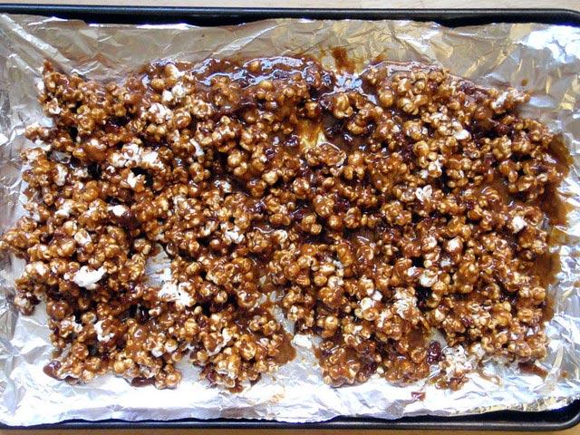 Cómo hacer palomitas de maíz dulces 1